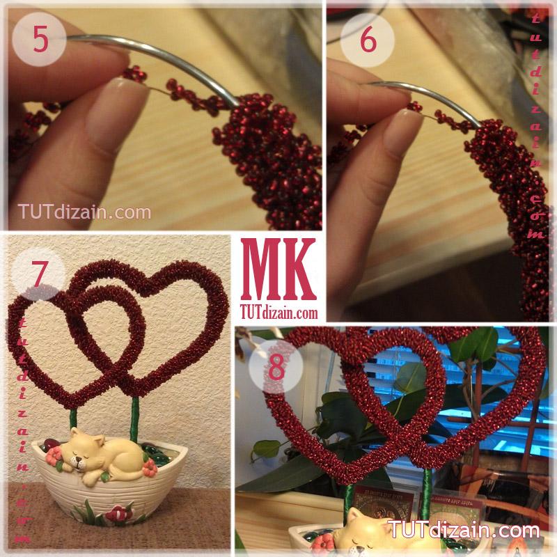 Как сделать подарок для мамы своими руками из бисера 32