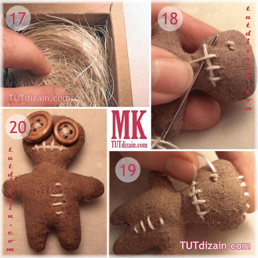 Как сделать куклу вуду в домашних