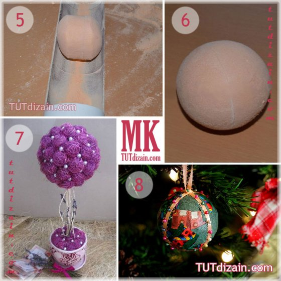 Как из пенопласта вырезать шар в домашних условиях - Zerli.ru