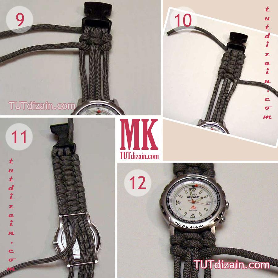 Как из кожи сделать браслет для часов своими руками 76